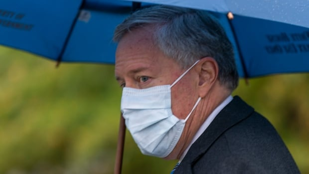 Trump's chief of staff Mark Meadows diagnosed with COVID-19