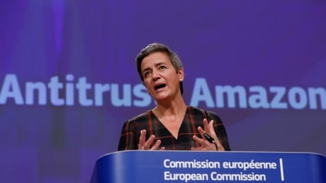 Margrethe Vestager amazon