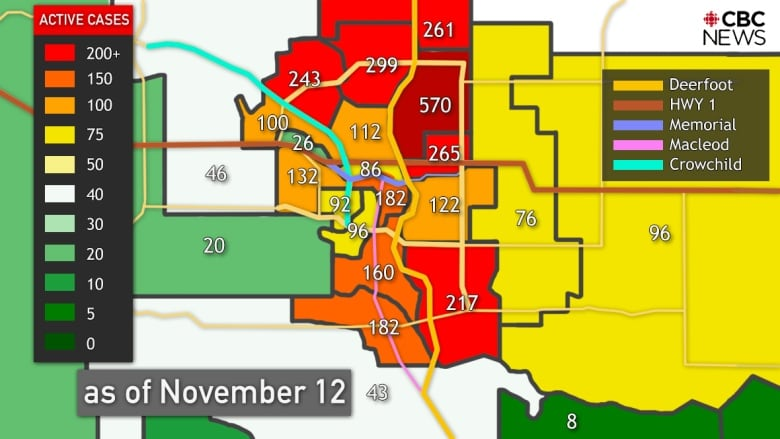 What You Need To Know About Covid 19 In Alberta On Friday Nov 13 Cbc News
