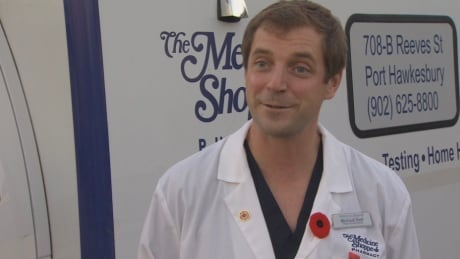 Michael Hatt, pharmacist and owner of the Medicine Shoppe in Port Hawkesbury, bought a second-hand a