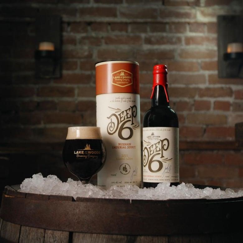 Kenora Established brewery aging beer Beneath Lake of the Woods ice thumbnail