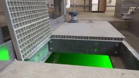 Saskatoon wastewater treatment plant.