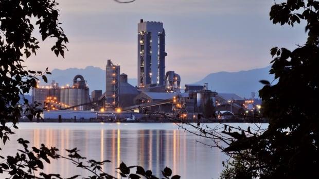 lafarge cement plant in richmond bc.