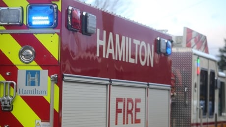 2 people rescued from early-morning fire in Hamilton