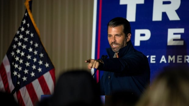 Donald Trump Jr. has tested positive for COVID-19