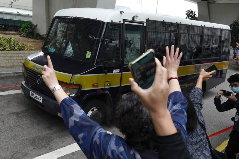 Hong Kong pro-democracy leaders remanded