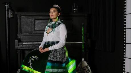 Ireland Lacrosse ribbon skirt