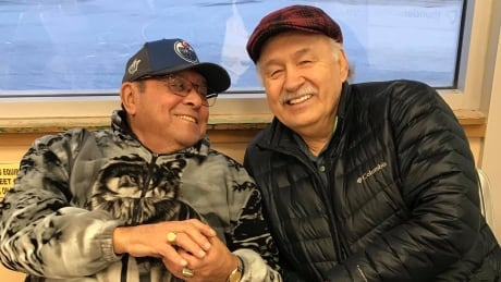 Reggie Leach and Fred Sasakamoose