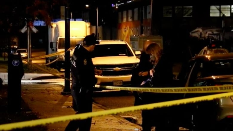 Man stabbed, suspect sought in 'horrible offence' in Vancouver's Downtown Eastside
