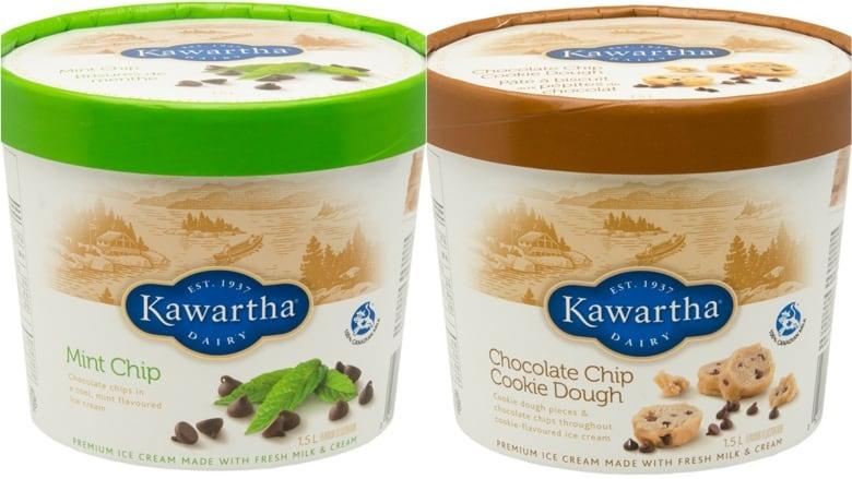 Kawartha Dairy Remembers ice cream for Potential Metallic presence thumbnail
