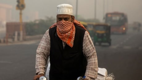 India's struggle with COVID-19 and pollution