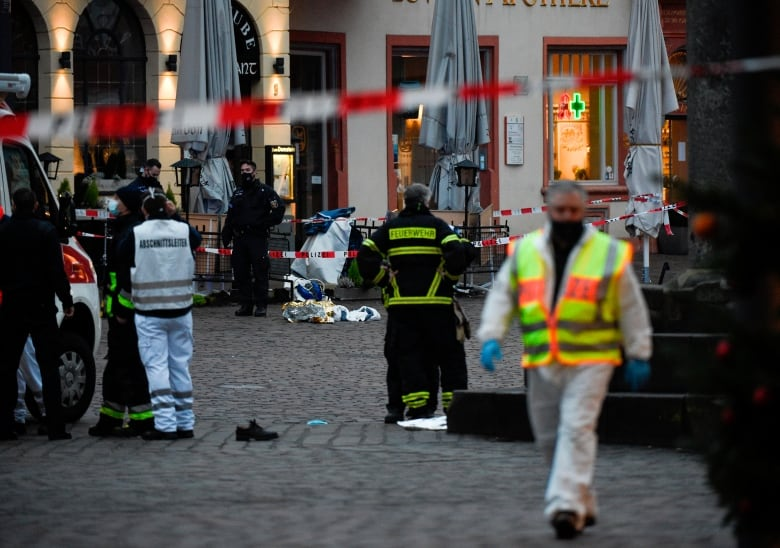 At least 5 killed, many injured in Germany after man drives car into crowd