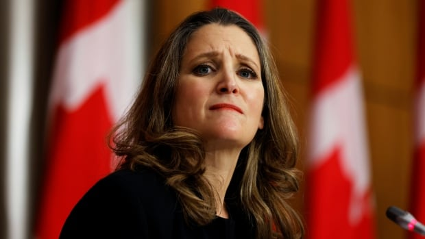 COVID-19 economic distortions mean Chrystia Freeland faces dangers ahead | CBC News
