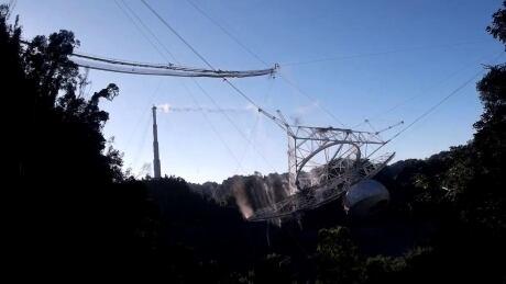 Arecibo collapse