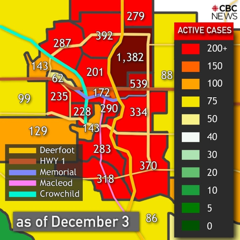 Everything You Need To Know About Covid 19 In Alberta On Friday Dec 4 Cbc News