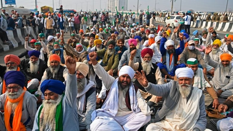 India's farmers vow to intensify protests against reforms as talks fail to  make progress   CBC News
