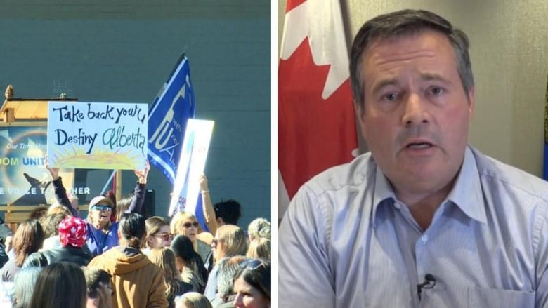 Kenney'disappointed' by anti-mask rally in Calgary thumbnail