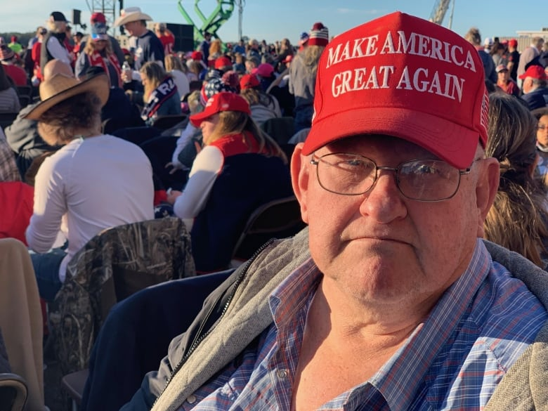 The biggest wild card in U.S. politics now: Trump fans in Georgia | CBC News