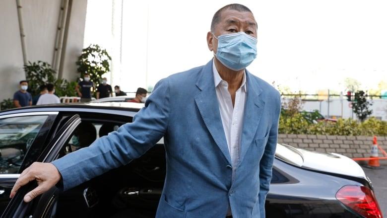 Hong Kong media mogul appears in court