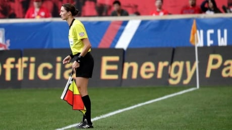 Kathryn Nesbitt becomes 1st woman to officiate men's championship match in North America