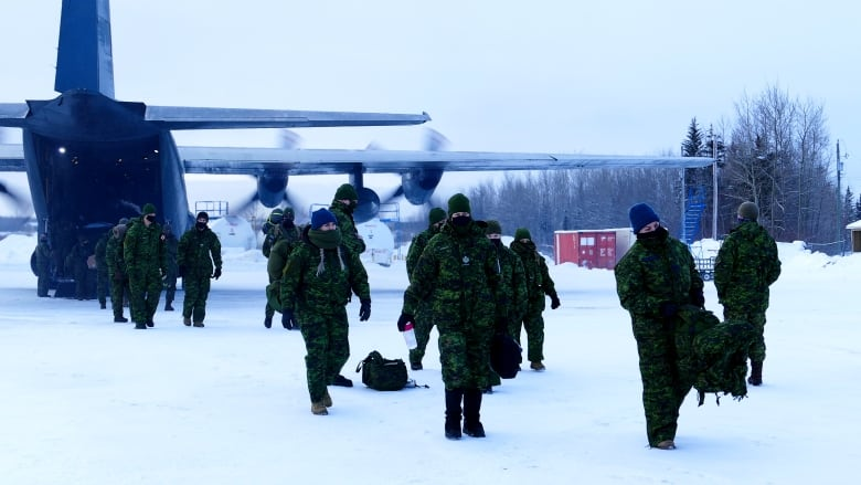 Canadian military leaves Shamattawa First Nation after providing COVID-19 support