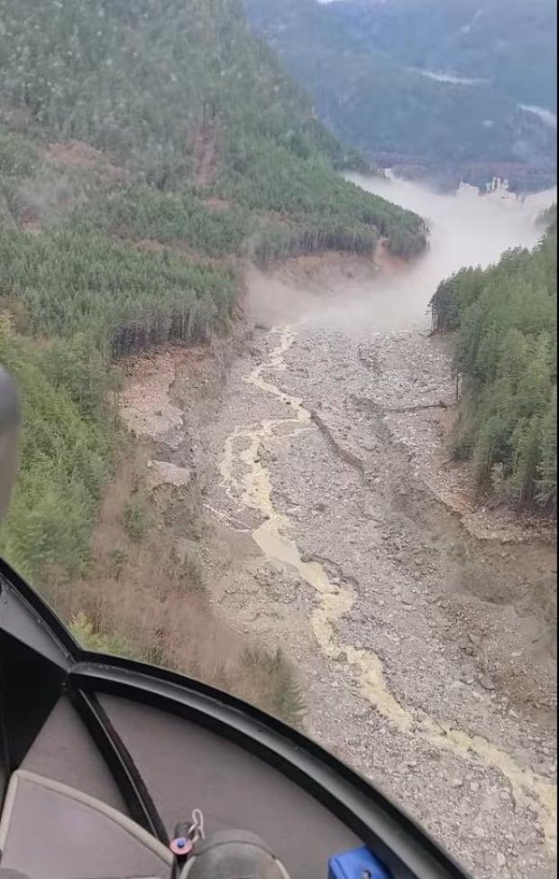 Elliot Creek landslide