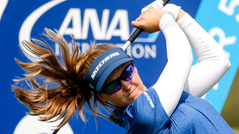 Brooke Henderson tied for fourth after three rounds at LPGA finale