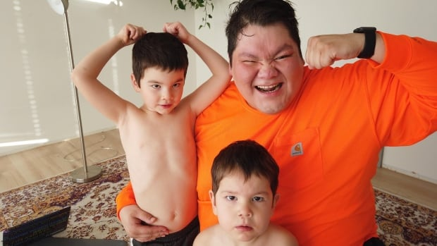 First Nations man starts weight loss journey to keep up with his sons