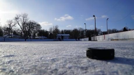 Windsor Community Centre hockey Rink, Dec. 18 2020