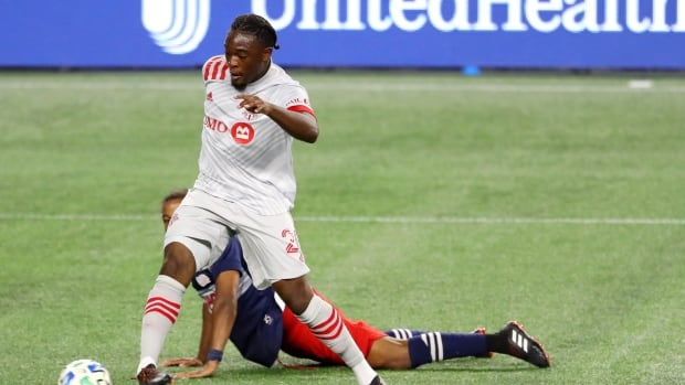 Ayo Akinola of TFC accepts an invitation to the Canadian national team camp