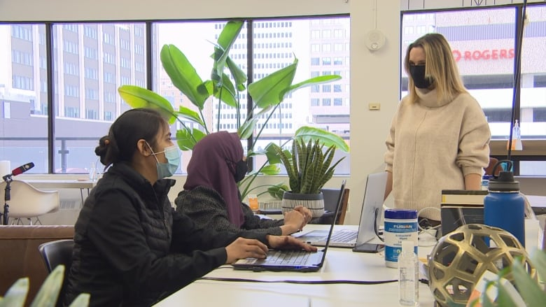 Federal program gives young newcomers paid work experience — and reason to hope