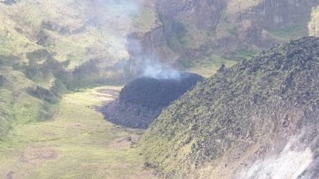 La Soufriere volcano Caribbean