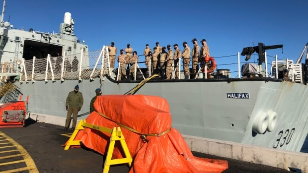 HMCS Halifax crew member tests positive for COVID-19