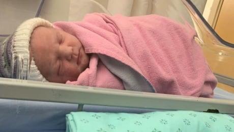 Scarlett Dawn Arsenault. P.E.I. 2021 new year's baby
