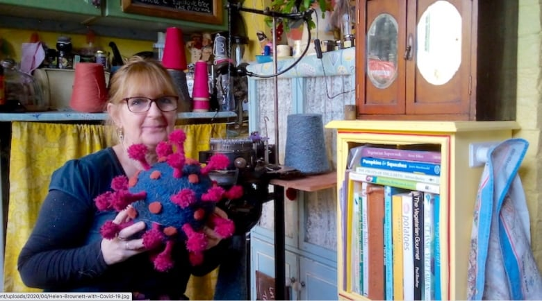 Knitting is helping this Canadian in Italy make sense of the COVID-19 pandemic