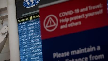 Pearson airport, December 2020