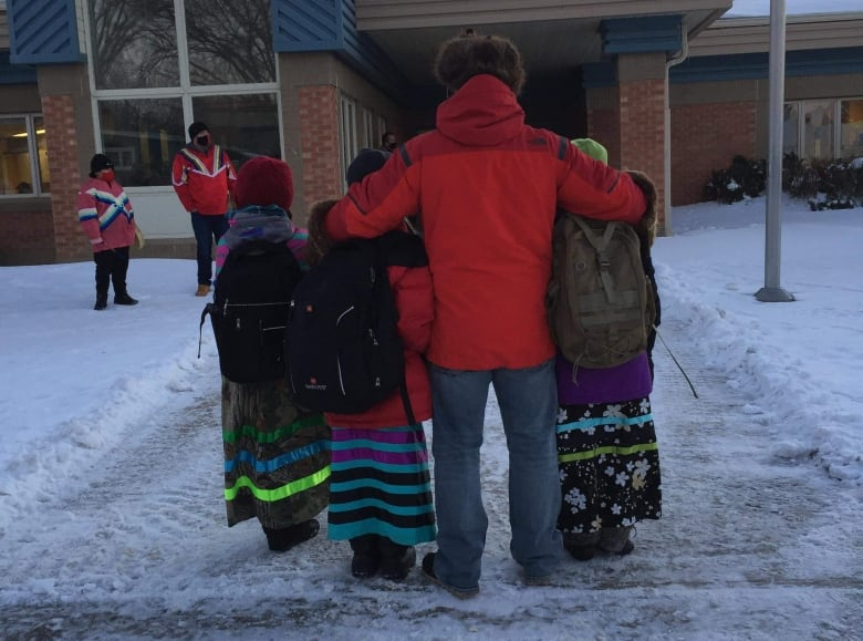 'A catalyst for a movement': Hundreds don ribbon skirts after Sask. girl shamed for wearing hers