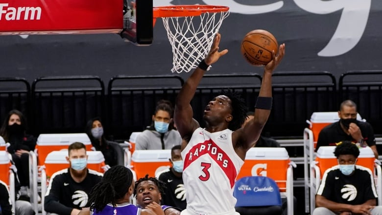 Lowry Out But Raptors Roll To Franchise Scoring Record In Rout Of Kings Cbc Sports