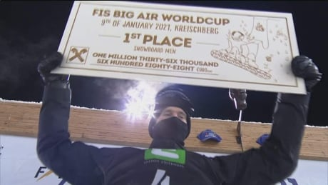 Canada's Parrot wins opening World Cup big air event of season