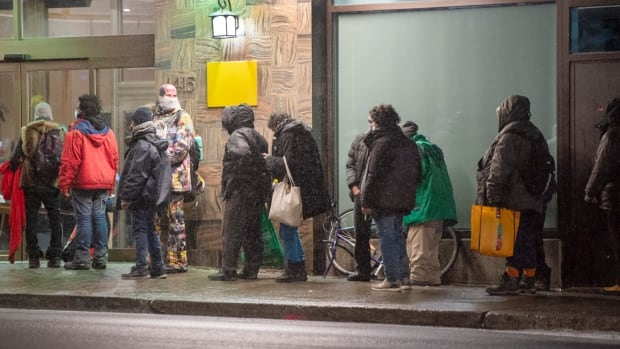 Life after curfew for Montreal's homeless means lineups, fear of fines and few empty beds