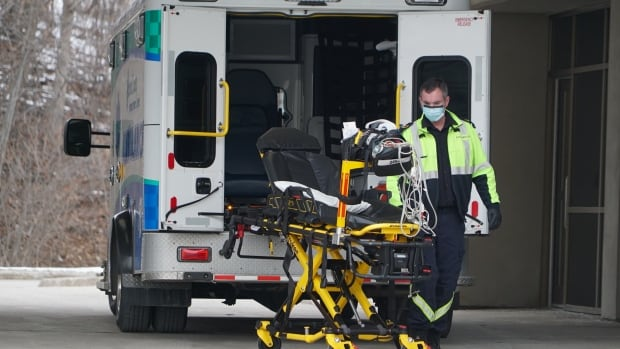Paramedic catches COVID-19, as N.L.'s first responders struggle with taxed system   CBC News