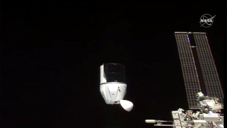SpaceX cargo Dragon splashdown off Florida coast expected Wednesday
