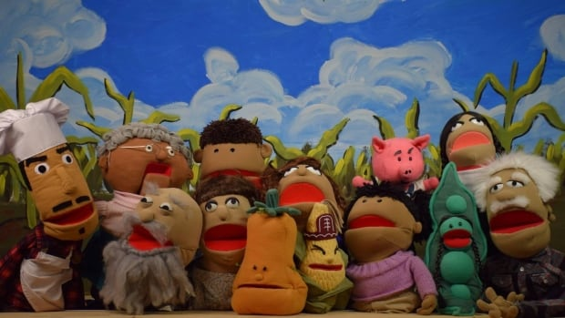 We're using puppets to engage children in Kanien'kéha, the language of their heritage