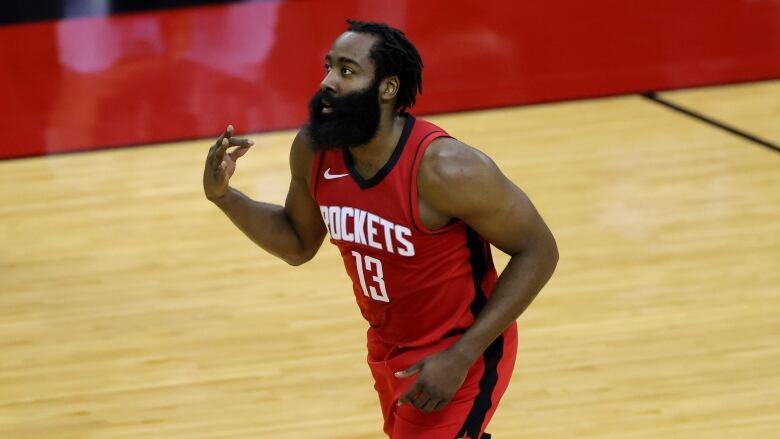 Harden kept out of practice after he disparages Rockets