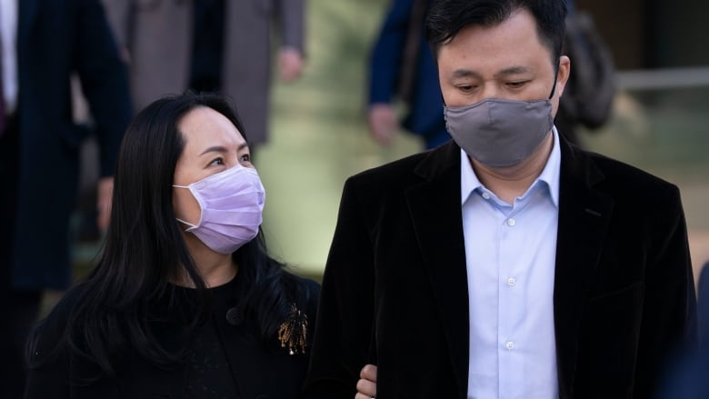 Husband, children of Huawei's Meng Wanzhou granted permission to travel to Canada thumbnail
