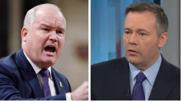 Could Jason Kenney's low approval rating hurt Erin O'Toole? Not likely in Alberta