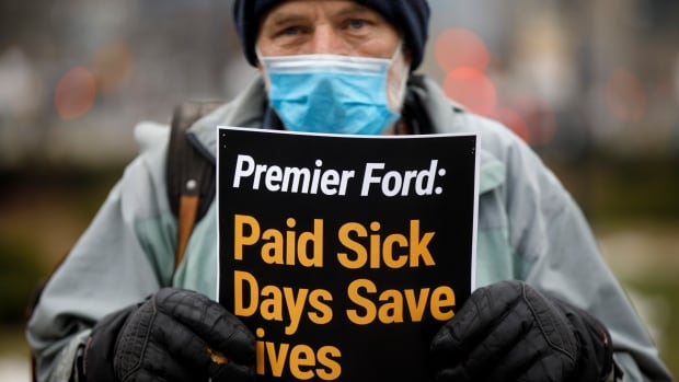 'If you're sick, stay home' is a non-starter for many Canadians