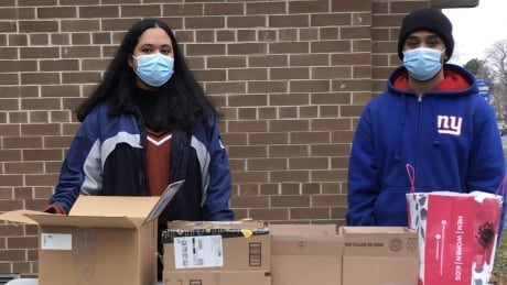 Rexdale siblings help to fight COVID-19 in their neighbourhood with care packages