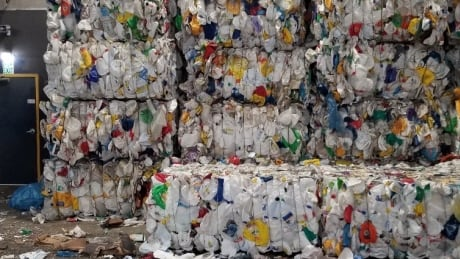 Plastic recycling - bags and film