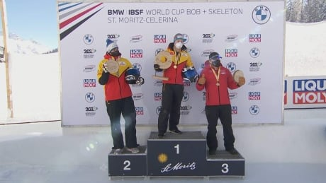 Canada's Kripps and Stones capture World Cup 2-man bobsleigh Bronze at St. Moritz